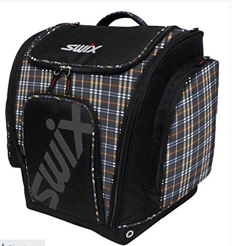 Swix Kerry Tri Pack Ski Boot Bag (Kerry Red Plaid) by Swix
