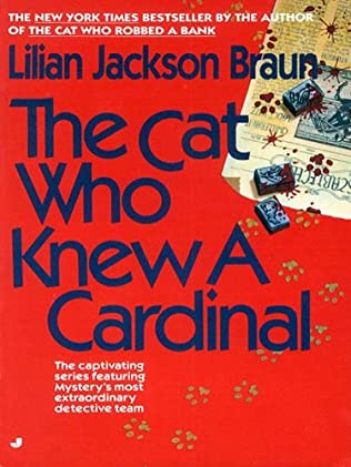 book cover of The Cat Who Knew A Cardinal