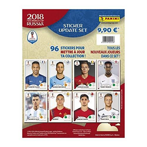 Panini Coupe du Monde 2018 Album + 5 Pochettes + 3 Pochettes gratuites AUCUNE 8018190088083