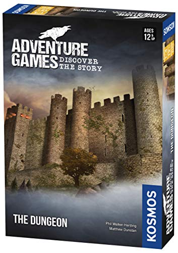 Adventure Games: The Dungeon - A Kosmos Game from Thames & Kosmos | Collaborative, Replayable Storytelling Gaming Experience for 2 to 4 Players Ages 12+ (Best Space Adventure Games)