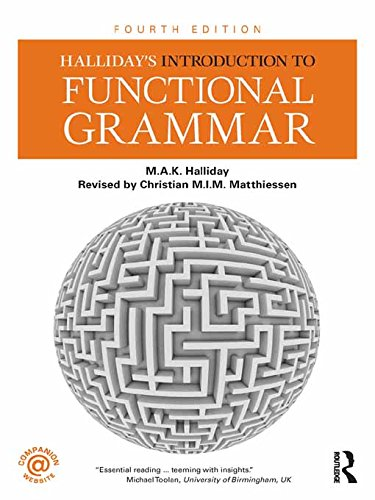 Halliday's Introduction to Functional Grammar Pdf