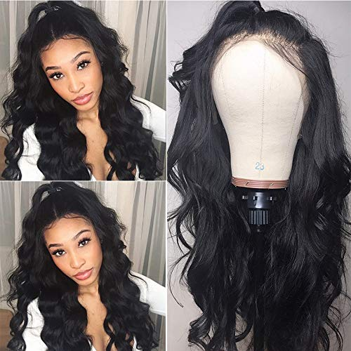 Lace Wigs Purposeful Brazilian Deep Curly 360 Lace Frontal Wig Pre Plucked With Baby Hair Remy 250 Density Lace Front Human Hair Wigs For Black Women Good Reputation Over The World