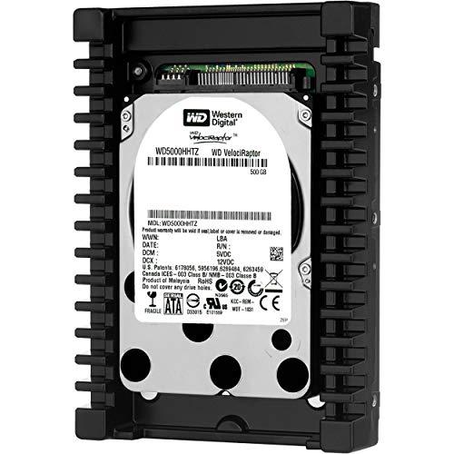 WD VelociRaptor 500 GB Workstation Hard Drive: 3.5 Inch, 10000 RPM, SATA III, 64 MB Cache - WD5000HHTZ ()