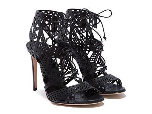 Casadei Femme 1L330D100VITT000 Noir Cuir Sandales