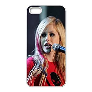 iPhone 4 4s Cell Phone Case White hb47 avril lavigne star Iklxn