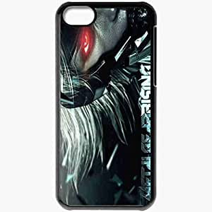 diy phone casePersonalized ipod touch 4 Cell phone Case/Cover Skin Metal Gear Rising Revengeance Games Blackdiy phone case