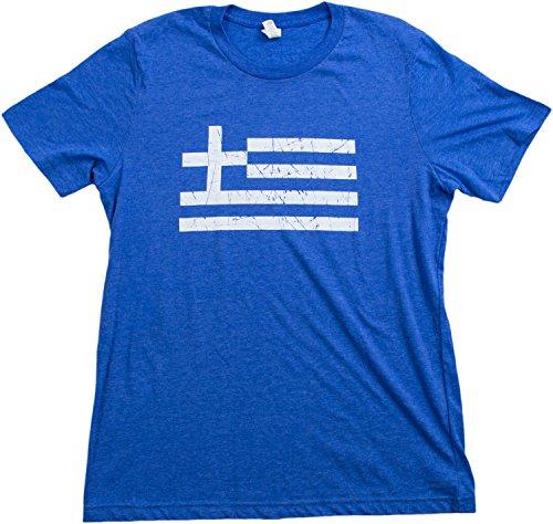 Greece Pride | Vintage Style, Retro-Feel Greek Flag, Hellas Unisex T-shirt