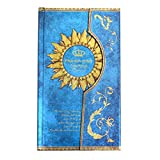 Felice European Retro Hradcover Notebook Magic Pharaoh Dairy for Christmas Journal Travel Book (blue)