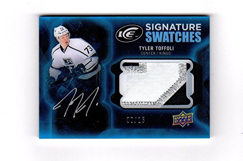 2016-17 UD ICE Signature Swatches Tyler Toffoli #SS-TT NM RC Rookie MEM Auto 08/15 Sweet Patch from ICE Signature Swatches