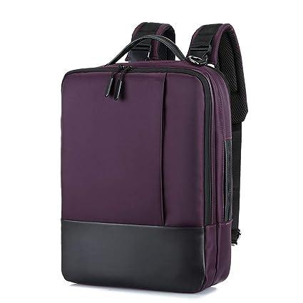 lzndeal - Mochila antirrobo para portátil, Impermeable, con Puerto USB para Viajes de Negocios