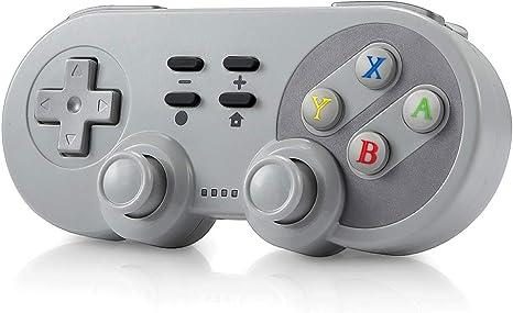 Ertisa Mando para Nintendo Switch, Mando para PS3, 4 IN 1 Dual Shock Wireless Switch Controller Gamepad Joystick para Nintendo Switch Playstation 3, Android y Windows: Amazon.es: Videojuegos