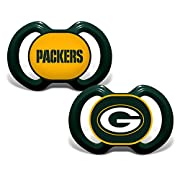 Baby Fanatic Green Bay Packers 2 Piece Pacifier Set