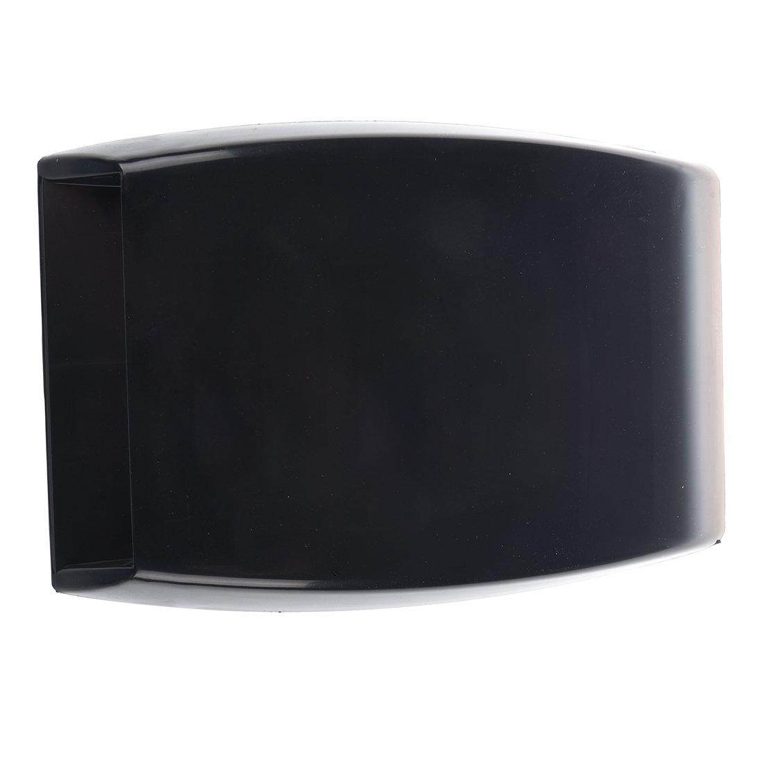 TOOGOO Respiradero de flujo de aire universal capilla de toma de aire de coche Negro con malla R