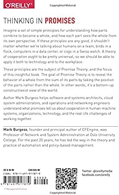 Thinking In Promises Designing Systems For Cooperation Burgess Mark 9781491917879 Books Amazon Ca