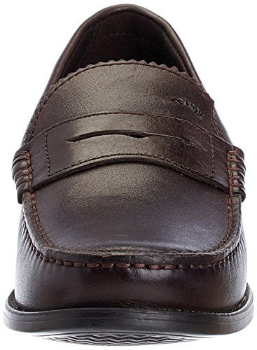 Geox Men's Damon Loafers Chocolate Xn96n4X