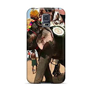 Shock-Absorbing Hard Phone Case For Samsung Galaxy S5 With Unique Design High-definition Rise Against Skin AlissaDubois