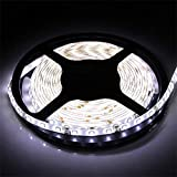 XT AUTO White 12v 5M 3528 SMD Neon 300 Led Car Flexible Waterproof Underbody Light Strip