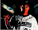 Giancarlo Stanton Signed - Autographed Florida Marlins 8x10 inch Photo - Currently playing on the New York Yankees - Guaranteed to pass PSA or JSA