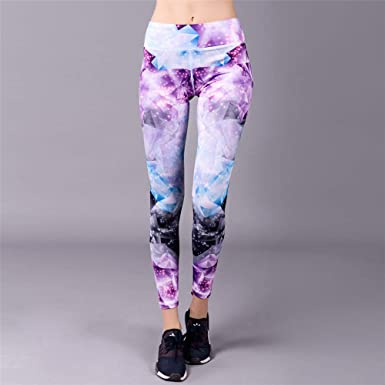 d0e867a702 Amazon.com: A_WS 1 Pcs Awesome Light Purple Fashion Sexy Yoga Pants ...