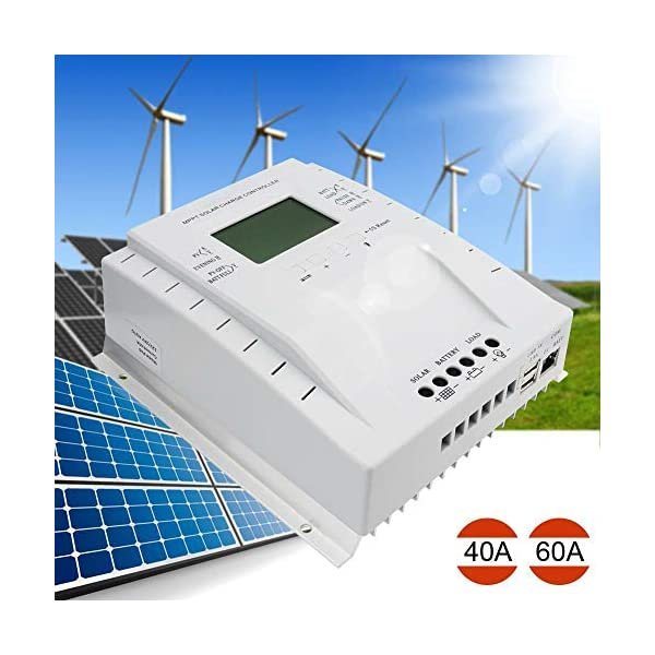 OOYCYOO-MPPT-60-amp-Charge-Controller-12V24V-Auto60A-Solar-Panel-Charge-Regulator-with-LCD-Display-Max-100V-780W1560W-Inputfor-Lead-Acid-Battery-with-Load-Timer-Setting