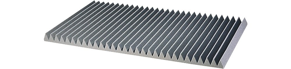 Auralex 3'' Studiofoam Wedge 2'x4'x3'' panels (8 pack) Charcoal 3''