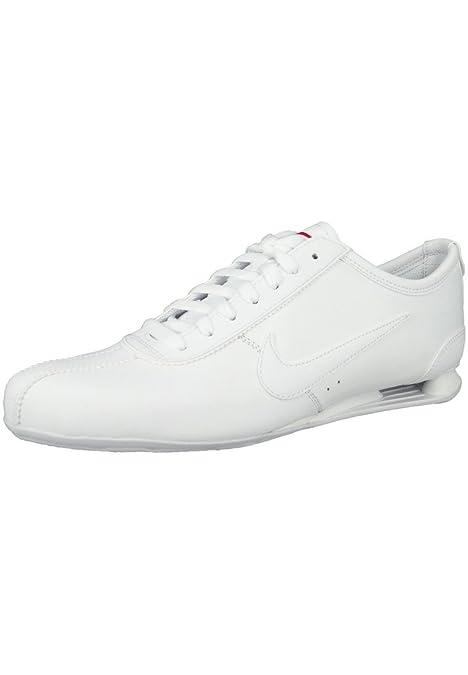 newest 8ca31 8fcf1 ... vista de frente  Sneaker Nike Shox Rivalry Blanco 316317-143 gamma  Blanco, Nike Herren41 ...