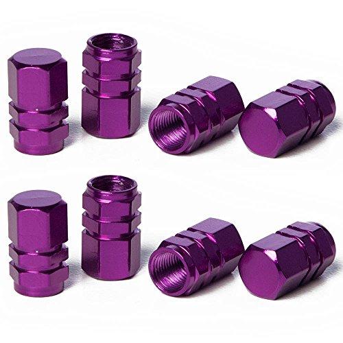 purple valve stem caps - 3