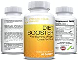 Diet Booster Thermogenic Fat Burner - Diet Pill System - Weight Loss Supplement & Appetite Suppressant - Energy Booster - Highest Rated Pharmaceutical Grade - FAST Weight Loss