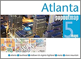 Atlanta PopOut Map (PopOut Maps) Mobi Download Book