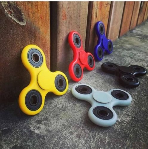 [EE New Hand Spinner Tri Fidget 3D Ceramic Ball Desk Focus Toy Stress Relief] (Cute Couple Costumes Ideas Tumblr)