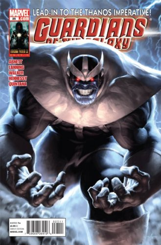 Guardians of the Galaxy #25 ''Thanos Appearance''