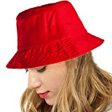 Red Sun Hat for Women - Casual Hat for Hiking