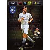 Panini FIFA 365 Adrenalyn XL 2017 Gareth Bale Fans Favourite Trading Card