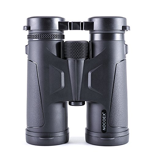 NOCOEX Binoculars for Adults, Professional 10x42 BAK4 Prism Roof Optics, Compact for Bird Watching and Outside Activity