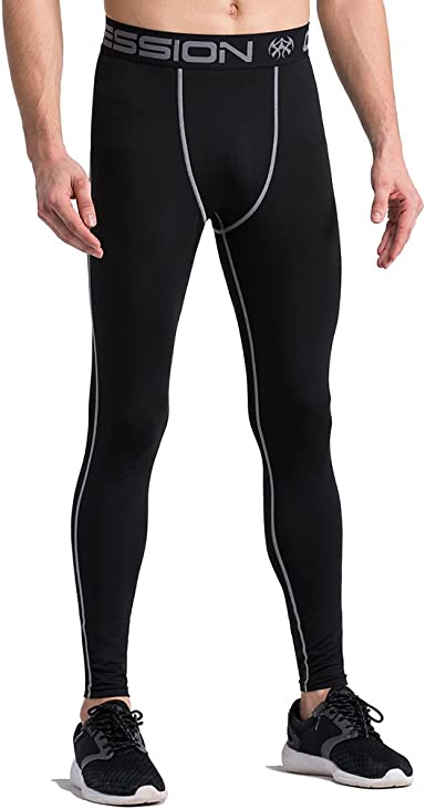 Amazon.com: Men's Compression Leggings Base Layer Tights Wicking Pants: Clothing