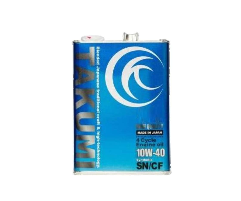 TAKUMIモーターオイル HIGH QUALITY 10W-40 4L