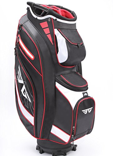 EG EAGOLE Eagole Super Light Golf Cart Bag,14 Way Top and Full Length Divider,9 Pockets