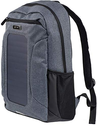 LifePod Backpack with Solar Panel and USB Port to Power