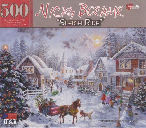 Sleigh Ride By Nicky Boehme 500 Piece Puzzle
