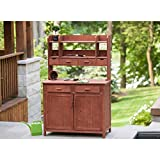Leisure Season PBS4224 Potting Bench with Storage [Lawn & Patio]