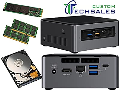 Intel NUC NUC7i7BNH Mini PC (Kaby Lake) i7-7567U 1TB M.2 SSD, 1TB Hard Drive 16GB RAM, Assembled and Tested