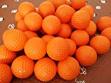 Dsmile Orange Foam Golf Practice Balls 14 Pack