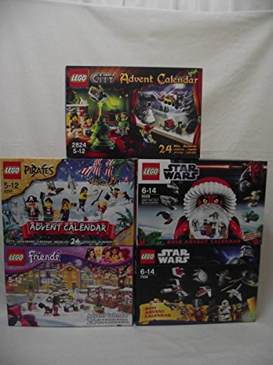 [해외] 레고 LEGO 어드밴트 5 개세트 2824 6299 9509 41102 7958 씨티 스타워즈 프렌즈 파이럿