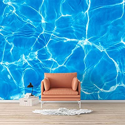 Amazing Work of Art, Wall Mural Blue Ocean Deep Sea Removable, Top Quality Design