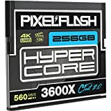 256GB PixelFlash HyperCore CFast 2.0 Memory Card 3600X up to 560MB/s SATA3 C Fast for Phase One, Leica, Canon C300 Mk II EOS-1DX Mark II, Hasselblad, Atomos, Blackmagic Ursa + Ursa Mini and More