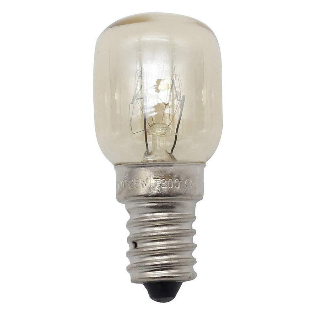 Homankit 8 Stü ck Glü hbirne E14-15 Watt Spezial-Leuchtmittel fü r Salzlampe und Backofen