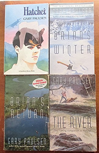 Hatchet 4 book set, Hathet, Brian's Winter, Brian's Return, & The River