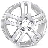 New 16'' Alloy Replacement Wheel for Volkswagen Jetta VW 2005 2006 2007 2008 2009 2010 2011 2012 2013 2014 2015 2016 2017 Silver Rim 69812