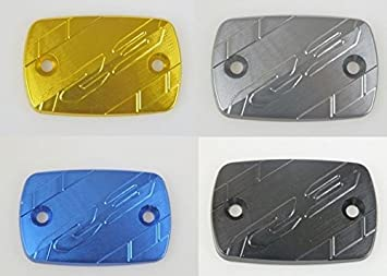 CNC Aluminum Front Brake Reservoir Cover for 2014-2015 Yamaha YZF R3 YZF-R3 (Red) Tmsuschina XUN-YA-MT09-1415