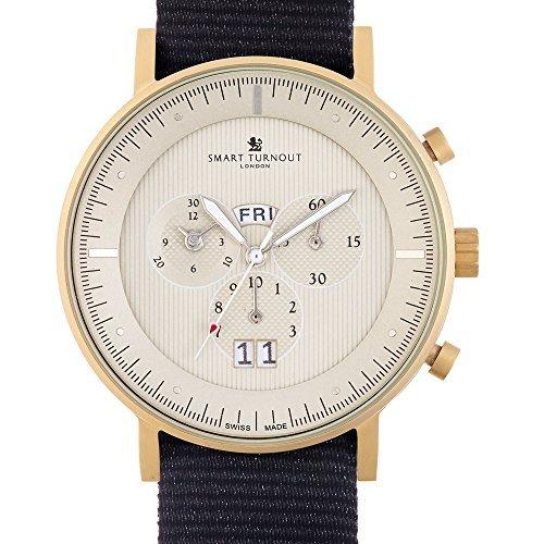 Relojes suizos para hombre del diseñador vestido de Lancaster reloj de pulsera de oro de cara